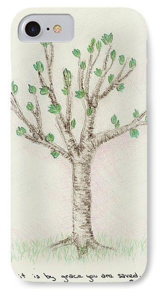 4 Trees-3rd Tree Spring IPhone Case