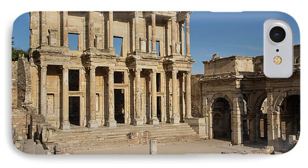 Turkey, Ephesus The Library Of Ephesus IPhone Case