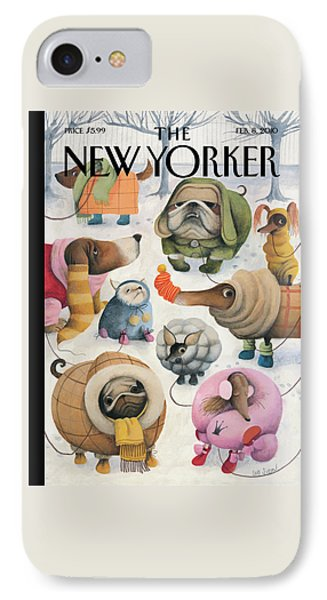 New Yorker February 8th, 2010 IPhone Case