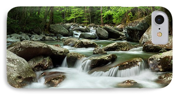 Usa, Tennessee, Great Smoky Mountains IPhone Case by Ann Collins