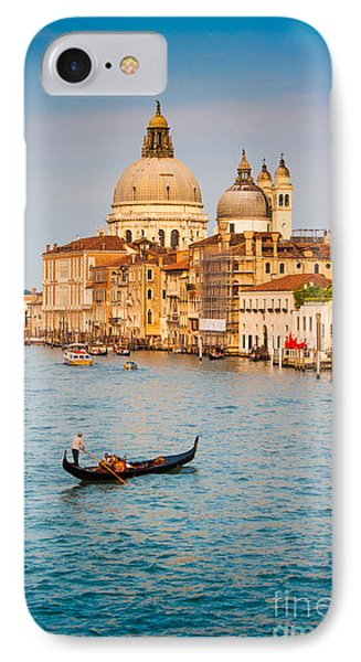 Venice Sunset IPhone Case by JR Photography