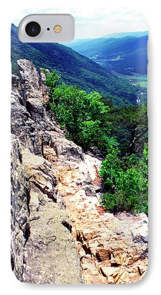 View From Atop Seneca Rocks Phone Case by Thomas R Fletcher