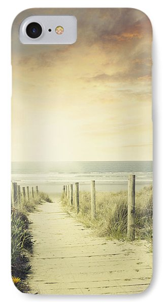 Walkway IPhone Case by Les Cunliffe