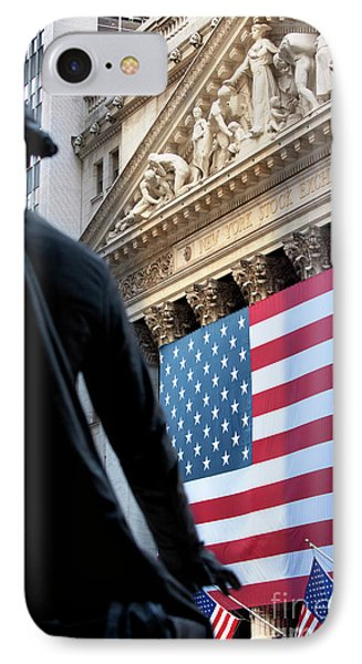 Wall Street Flag IPhone Case