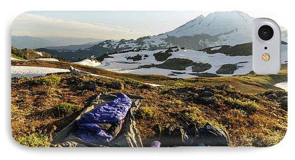 Washington, Cascade Mountains IPhone Case by Matt Freedman