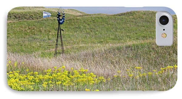 Water Pump Windmill IPhone Case by Jim West