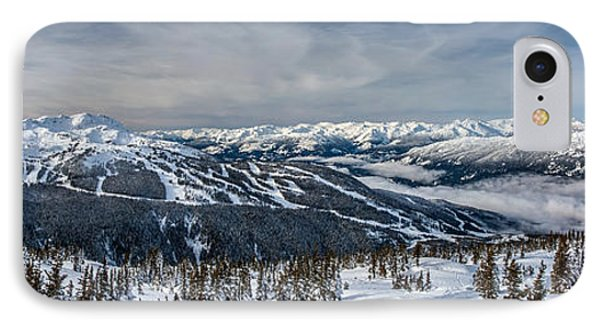 Whistler Mountain Peak View From Blackcomb IPhone Case