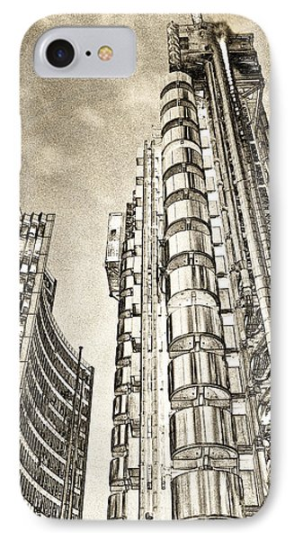 Willis Group And Lloyd's Of London Art IPhone Case