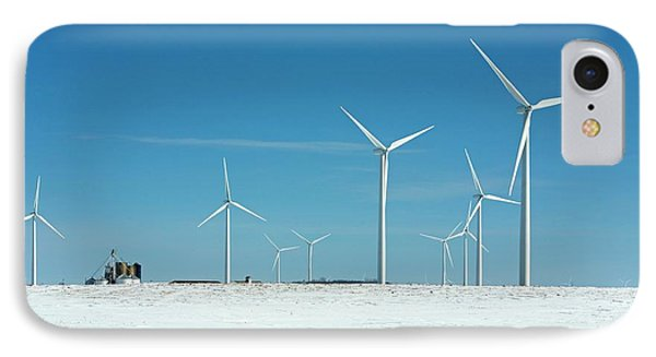Wind Farm IPhone Case by Jim West