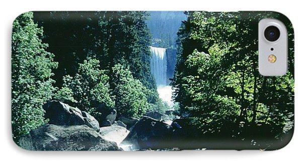 Yosemite Falls IPhone Case by Ted Pollard