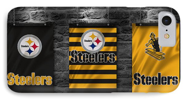 Pittsburgh Steelers IPhone Case by Joe Hamilton