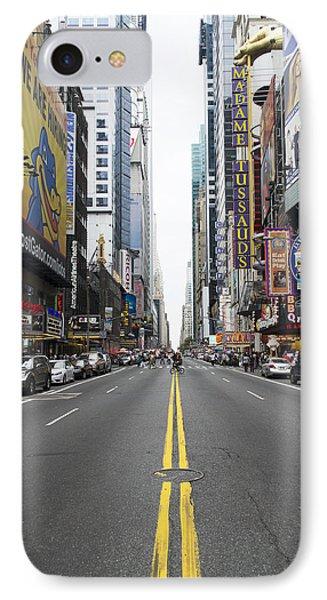 42nd Street - New York IPhone Case
