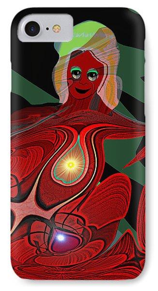 444 - Body Metamorphosis  ... IPhone Case by Irmgard Schoendorf Welch