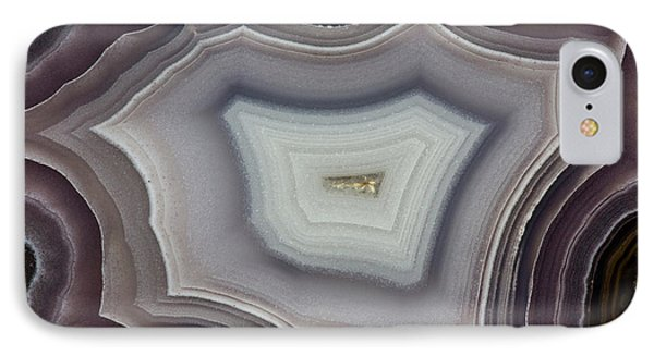 Banded Agate, Quartzsite, Az IPhone Case by Darrell Gulin