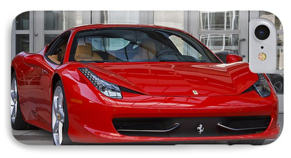 458 Italia IPhone Case by Dennis Hedberg