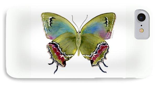 46 Evenus Teresina Butterfly IPhone Case by Amy Kirkpatrick