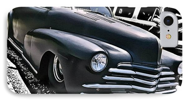 IPhone Case featuring the photograph '47 Chevy Lowrider by Victor Montgomery