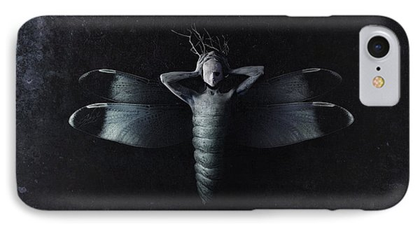 The Moth IPhone Case by Victor Slepushkin