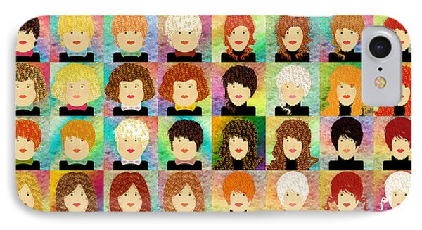 48 Porcelain Dolls IPhone Case