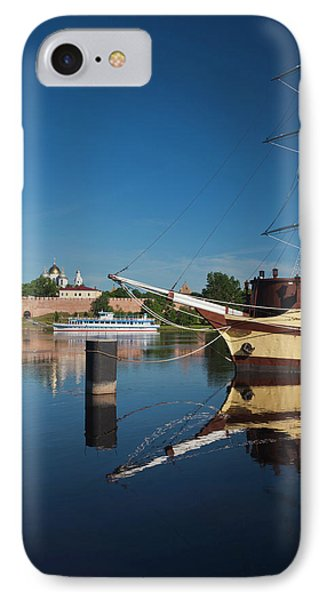 Russia, Novgorod Oblast, Veliky IPhone Case by Walter Bibikow