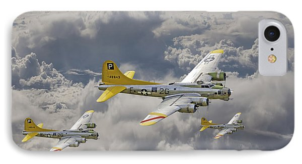 487th Bomb Group IPhone Case by Pat Speirs