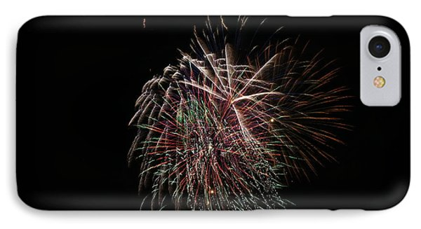 4th Of July Fireworks Phone Case by Alan Hutchins