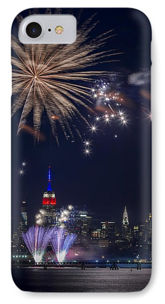 4th Of July Fireworks Phone Case by Eduard Moldoveanu