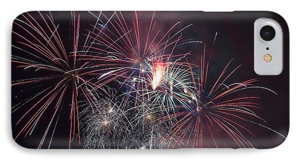 4th Of July Fireworks Portland Oregon 2013 IPhone Case by Jit Lim