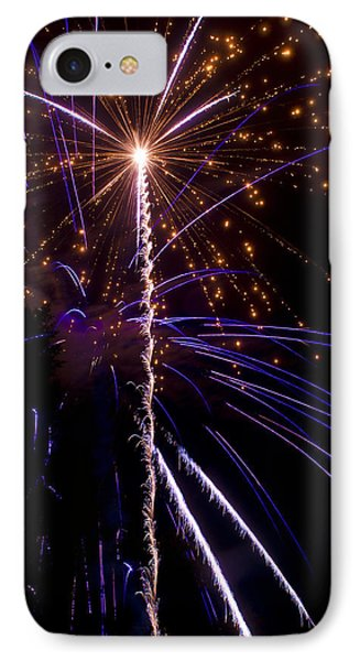 4th Of July Fireworks Phone Case by Ray Devlin