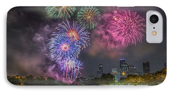 4th Of July In Houston Texas IPhone Case