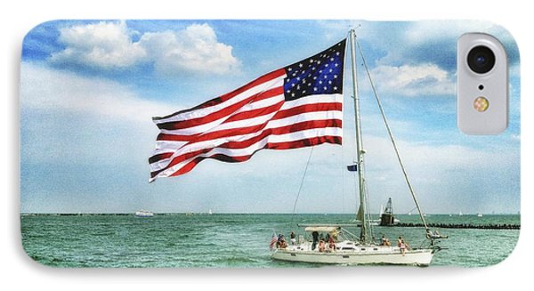IPhone Case featuring the photograph 4th Of July - Navy Pier - Downtown Chicago by Photography  By Sai