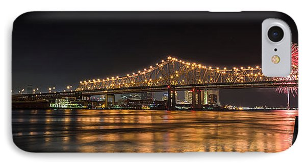 4th Of July Over The Big Easy Part Deaux Phone Case by David Morefield