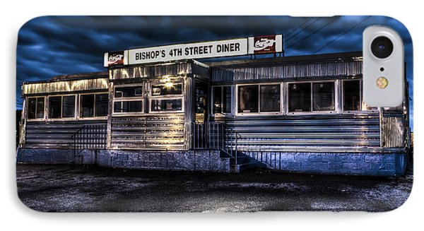 4th Street Diner IPhone Case