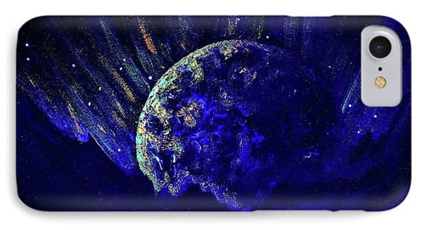 Cosmic Light Series  IPhone Case by Len Sodenkamp