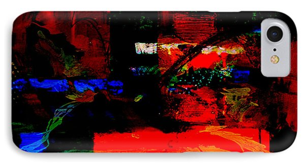 Abstract Wall Art IPhone Case by Marvin Blaine