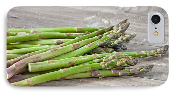 Asparagus IPhone 7 Case by Tom Gowanlock