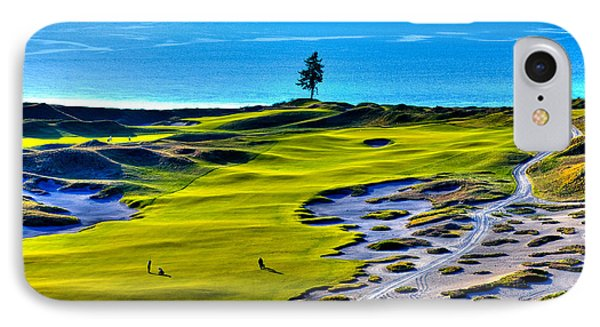 #5 At Chambers Bay Golf Course - Location Of The 2015 U.s. Open Tournament IPhone Case by David Patterson