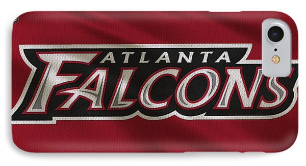 Atlanta Falcons Uniform IPhone Case by Joe Hamilton