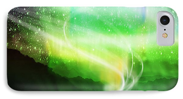 Aurora Borealis Phone Case by Setsiri Silapasuwanchai