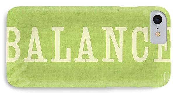 Balance IPhone Case by Linda Woods