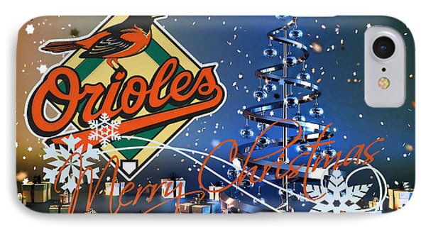 Baltimore Orioles Phone Case by Joe Hamilton