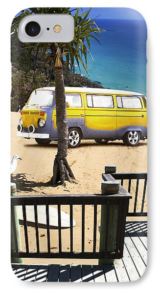 Beach Vacation IPhone Case by Jorgo Photography - Wall Art Gallery