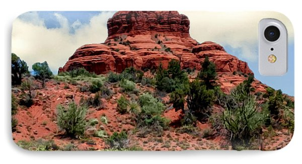 Bell Rock Vortex Painting IPhone Case