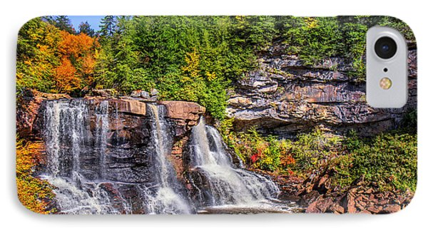 Blackwater Falls IPhone Case by Mary Almond