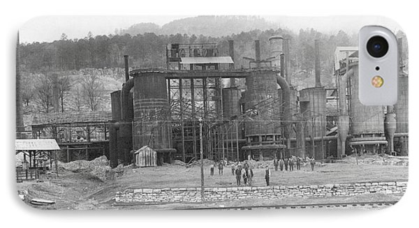 Blast Furnaces IPhone Case by Hagley Museum And Archive