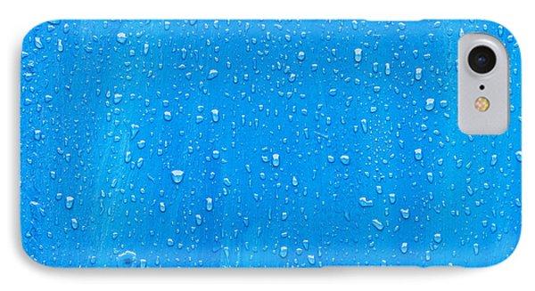 Blue Wood IPhone Case