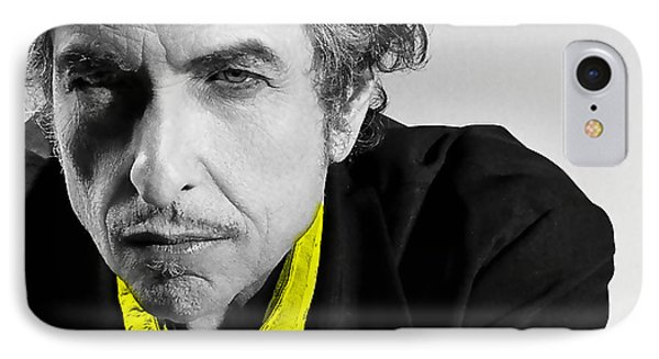 Bob Dylan IPhone Case by Marvin Blaine