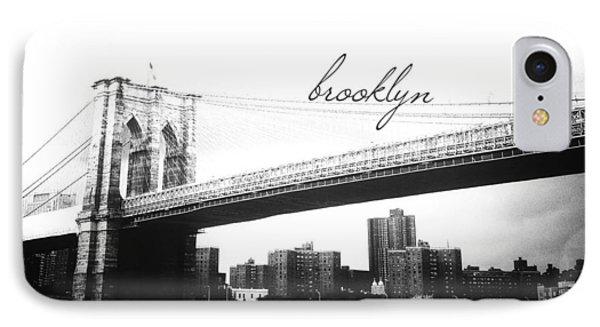 Brooklyn IPhone Case by Natasha Marco