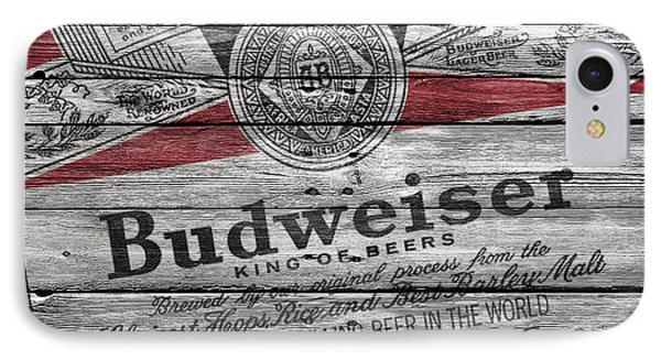 Budweiser IPhone Case by Joe Hamilton