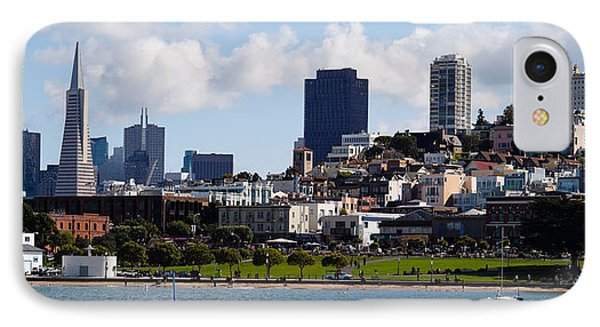 Buildings At The Waterfront IPhone Case by Panoramic Images